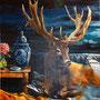 Ramure - Huile sur toile - 190 cm x 150 cm - 2019