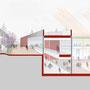 """L'archiettura e l'ambientazione favoriscono la percezione dell'ambiente esterno ed interno di un sistema scolastico """"aperto"""""""