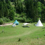 Campement Western Mijoux - Les Chemins de Traverse