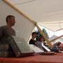 Tentes du Nord - Fête des Bûcherons Mijoux - 2015