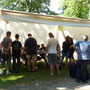Camp tentes du Nord et et Prospecteur - Château de Ferney Voltaire - Juin 2015