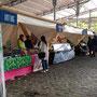 Location tentes du Nord et Stands Baker - Smmmile Vegan Pop Festival - Paris, La villette - Les Chemins de Traverse