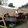 Festival ContreBande Dessinée 2016 - Château Ferney Voltaire - Location tentes - Régis Rodriguez - Les Chemins de Traverse