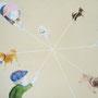 おさんぽくろす (2010.03.) キャンバスにアクリル H220×W273mm