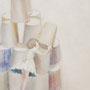 しろいおしろ ~ 紙 ~ (2012.01.) キャンバスにアクリル H455×W380mm