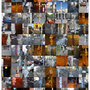 City for sale [adverts overflowing the posts and pillars], 120x84 cm, lambda print