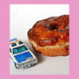 Police Car and parched Donut