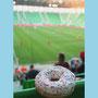 Donut with empty Stadium