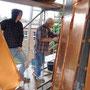 Stehfalzeindeckung aus Kupferblech durch Blechwerkstatt Weber (© Foto Podiebrad)
