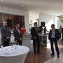 Eröffnung durch Geschäftsführer Uwe Dinnebier (© Foto: Wieck & Partner)