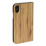 wooden iPhone 7 flip case bb stand