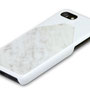 iphone 7 marble case white top
