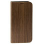 wooden iPhone X flip case nw behind