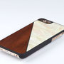 iphone 6 6s case bamboo and white nacre above