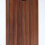 wooden iPhone 7 flip case nw back