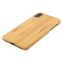 iPhone X wooden case with aramide top