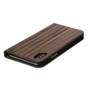 wooden iPhone X flip case nw top