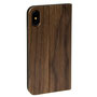 wooden iPhone X flip case nw stand