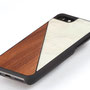 iphone 7 wooden case bamboo and white top