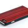 iphone 6 6s flip case red rose wood above