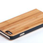 iphone 6 6s flip case bamboo wood above