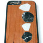 iphone 6 6s cover wood marble below