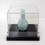 Low pixel CG 「POP ICON」 -Seiji-          2008  ceramic,Acryl box  9.5×9.5×9.5(cm)  個人蔵
