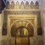 Mosquée-Cathédrale de Cordoue (Patrimoine de l´Humanité 1984) - Mihrab
