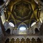Mosquée-Cathédrale de Cordoue - Intérieur du dôme de la mosquée
