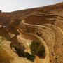 CANYON sur la route vers Midès et Tamerza