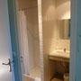 Salle de douche de la chambre 1
