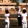 Volleyball im SOS-Kinderdorf Alexandria