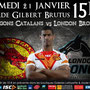 Match amical Dragons / London Broncos