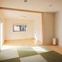 1F畳スペース  落ち着いた雰囲気を出す為、地窓のご提案をしました。
