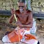 Zimtherstellung auf Cinnamon Island, Madu Ganga Sri Lanka