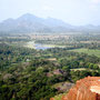 Sigiriya on Top of the Rock Sri Lanka