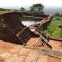 Sigiriya Castle auf dem Plateau