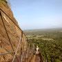 Sigiriya Rock Aufstieg Sri Lanka