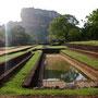 Sigiriya königlicher Lustgarten
