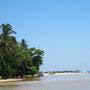 Madu Ganga Mündung ins Meer Sri Lanka