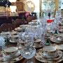 Ens. de vaisselle Old Country Roses Royal Albert 12 personnes (manque 2 morceaux)  no. 612