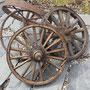 Anciennes roues en bois & roues en fer antiques  no. 591