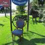 Chaise victorienne  no. 123  VENDU