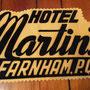 Hotel Martin's Farnham P.Q. publicité  no.  592