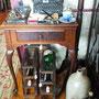 Meuble de machine à coudre style Queen Anne  no. 730