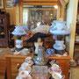 2 lampes de table  no. 319  VENDU