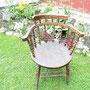 Ancienne chaise à bras  no. 263 VENDU