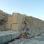 Verblendmauerwerk als Trockenmauer