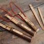 十年使える竹の箸と箸筒づくり