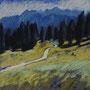 Bergwanderweg_28-28_Pastell auf Papier_2011 LS043